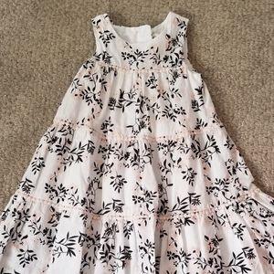 Little Girls Sleeveless Dress Organic Cotton